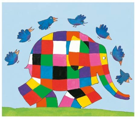 Museums and Galleries Elmer Birthday Card