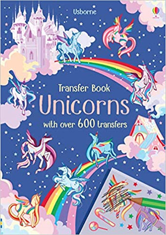 Unicorns Transfer Activity Book