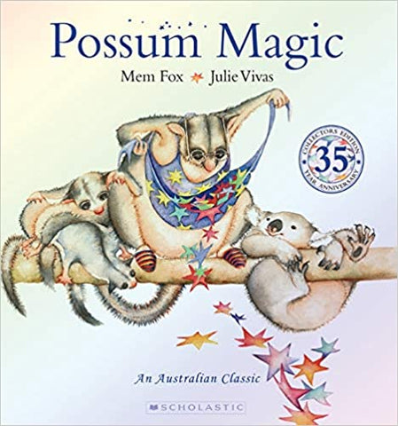 Possum Magic by Mem Fox, 35th Anniversary Slipcase Edition