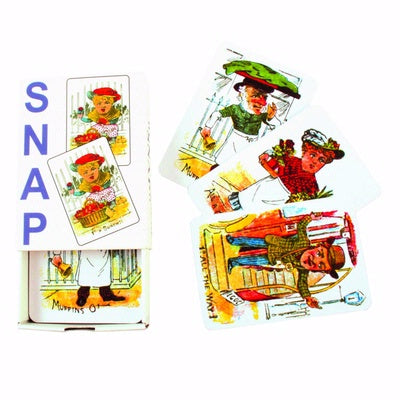 Retro Snap Card Game