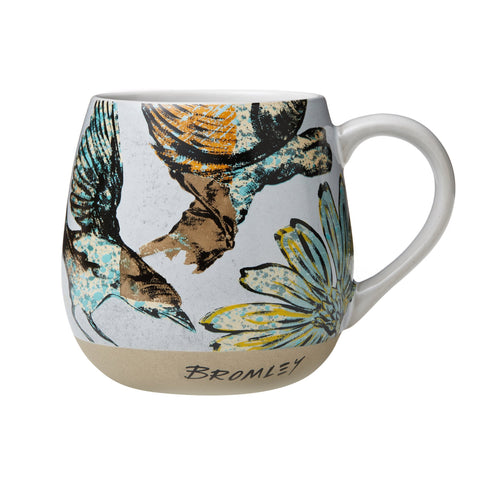 Robert Gordon David Bromley Hug Me Mug XL Bird