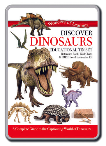 Discover Dinosaur Tin Set