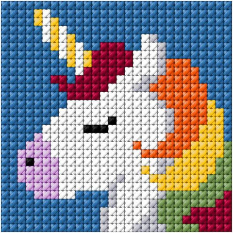 Beutron Cross Stitch Kit - Unicorn