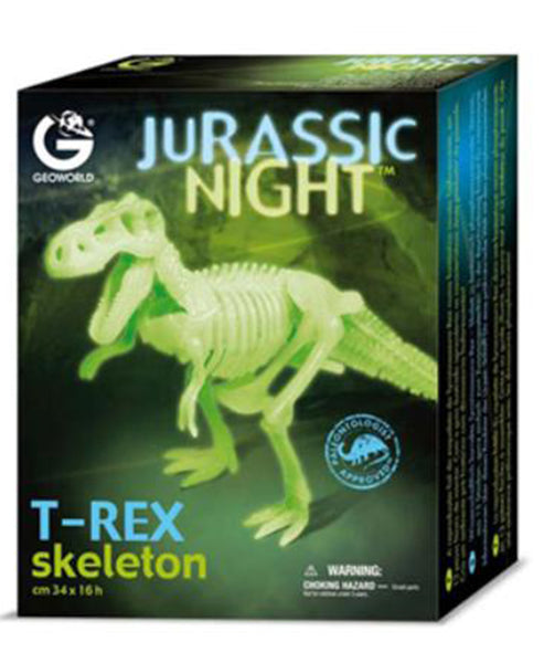 Jurassic Night Glow in the Dark T-Rex