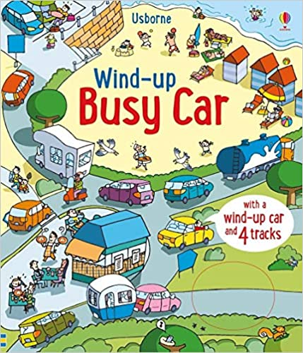 Usborne Bus Car Book Wind Up