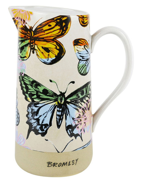 Robert Gordon David Bromley 1.5L Jug Butterflies