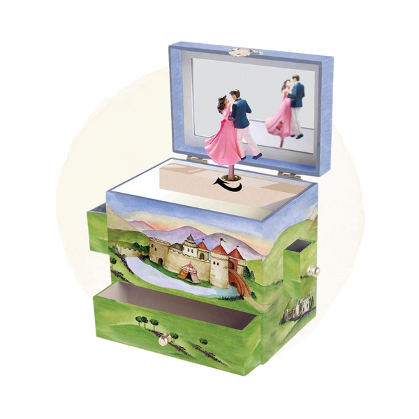 Enchantmints Prince and Princess Music / Jewellery Box