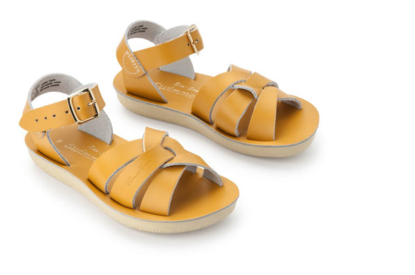 Salt Water Sun-San (thick sole) Swimmer Sandal - Mustard