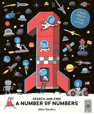 A Number of Numbers Search and Find Book