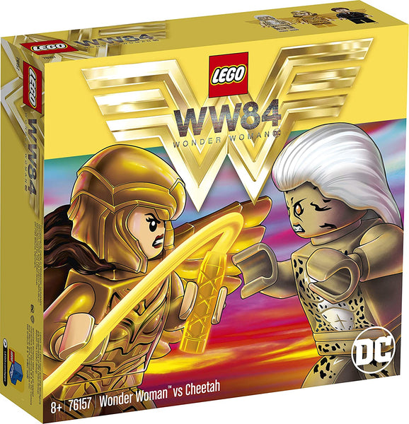 Lego DC Wonder Woman V The Cheetah