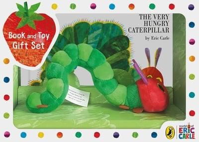 The Very Hungry Caterpillar Book and Plush Gift Set