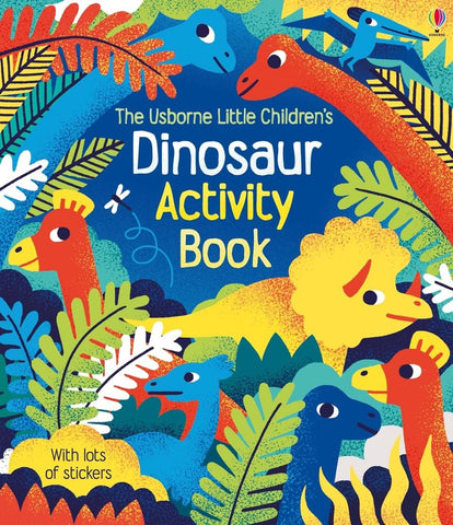Usborne Little Children's Dinosaur Activity Book