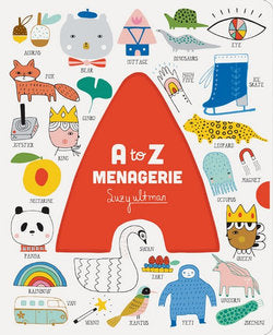 A to Z Animal Menagerie by Suzy Ultman