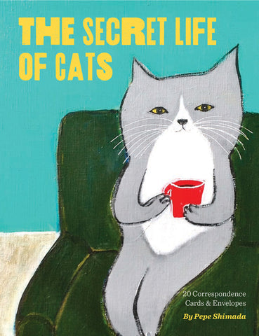 The Secret Life of Cats Notes and Envelopes