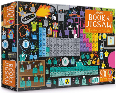 Usborne Book and JIgsaw Puzzle - Periodic Table
