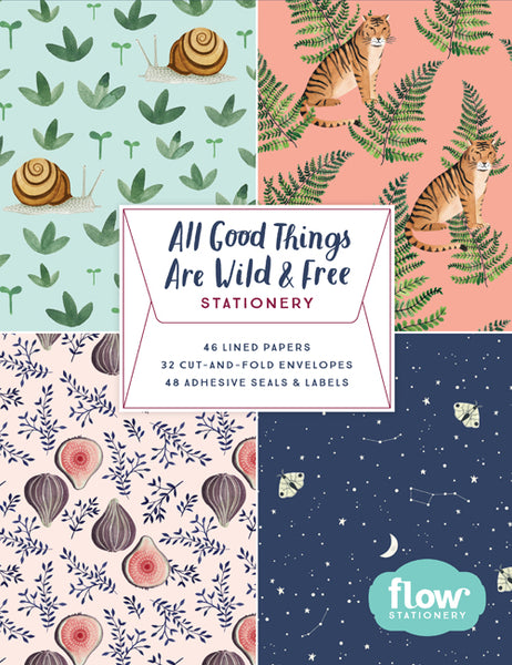 All Good Things are Wild and Free  Stationery