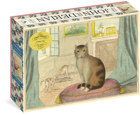 John Derian Calm Cats 750 Piece Jigsaw Puzzle by Artisan Puzzles
