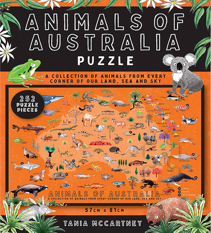 Animals of Australia Puzzle by Tania McCartney