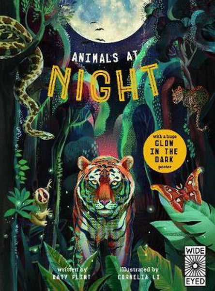 Animals at Night Glow In the Dark Hardback Book