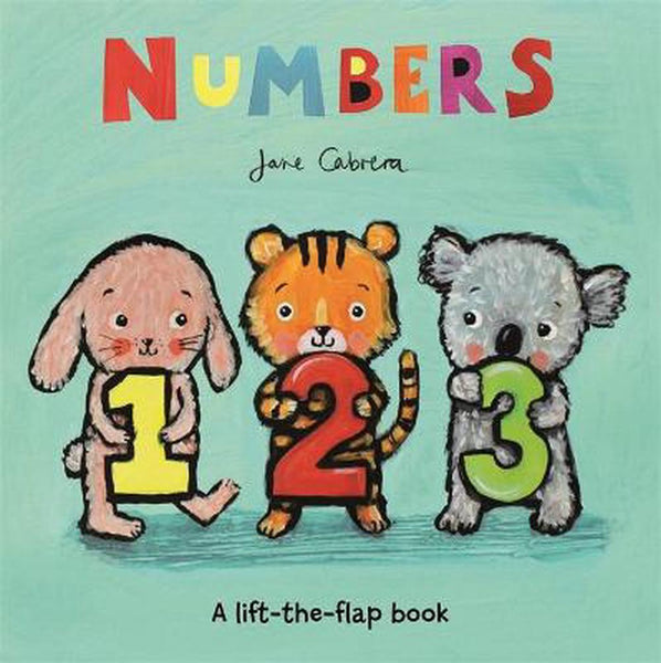Numbers by Jane Cabrera