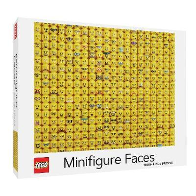 Lego Minifgure Faces 1000 Piece Jigsaw Puzzle