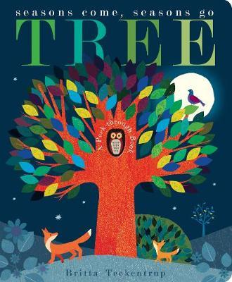 Tree Board Book by Britta Teckentrup