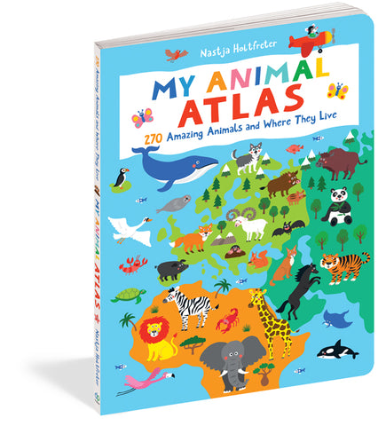 My Animal Atlas by Nastja Holtfreter