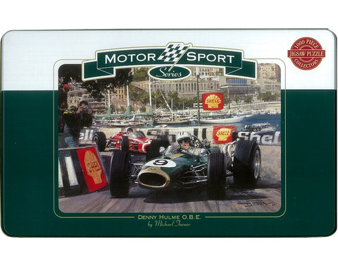 Motor Sport Series Monte Carlo 1000 Piece Puzzle in a Tin