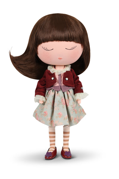 Anekke Love to Share Jade Cozy Doll Floral