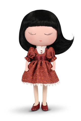 Anekke Love to Share Jade Sweet Doll Burgundy