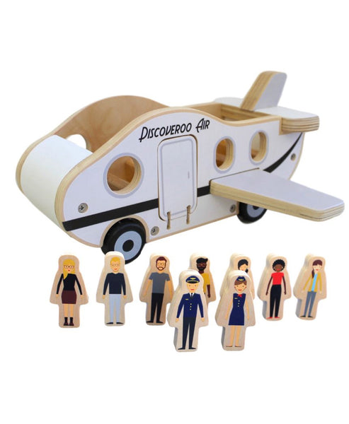 Discoveroo Aeroplane Play Set