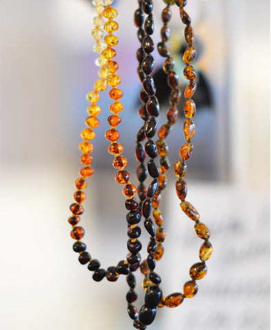 The Amber Centre Necklace - Asst