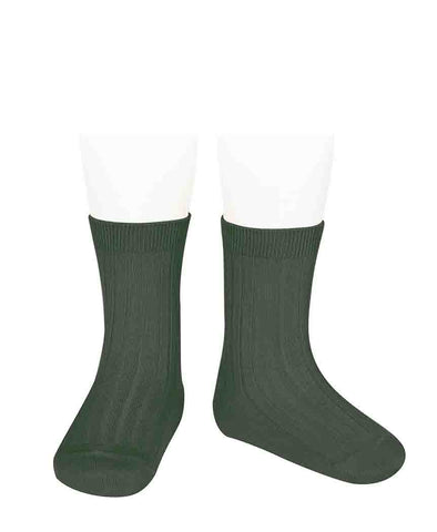 Condor Ankle Ribbed Sock (#761 Liquien)