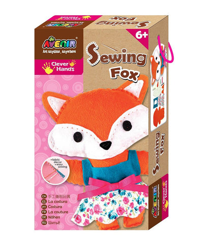 Avenir Clever Hands Sewing Fox Kit