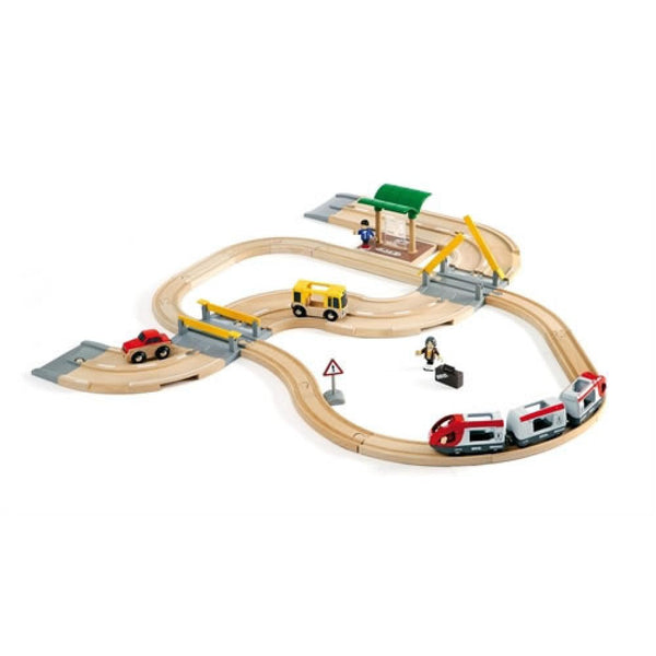 Brio Rail & Road Travel Set