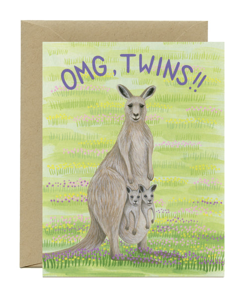 OMG Kangaroo Twins Birthday