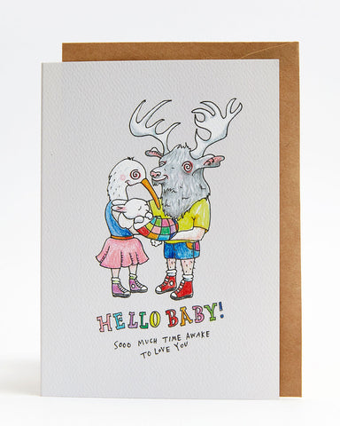 Wally Paper Co: Hello Baby