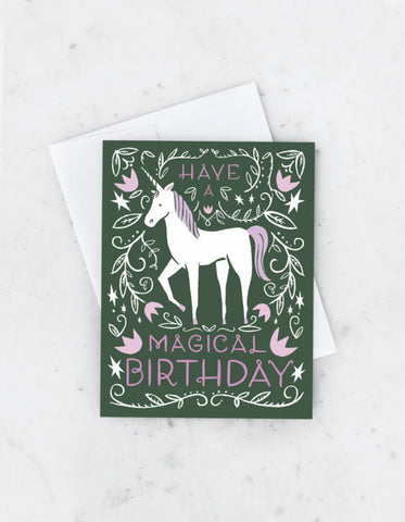 Idlewild Have a Magical Birthday Card