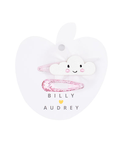 Billy Loves Audrey 2Pk Cloud Clips