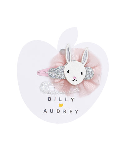 Billy Loves Audrey 2Pk Dreaming Bunny Clips