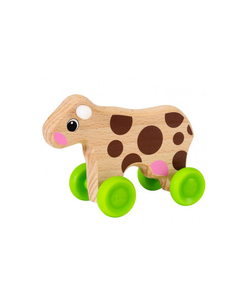 Brio Mini Push Along Cow