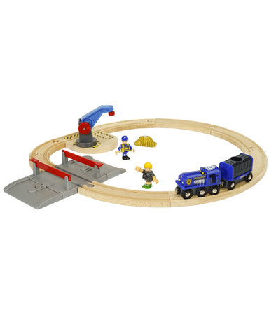 Brio Police Transport Set
