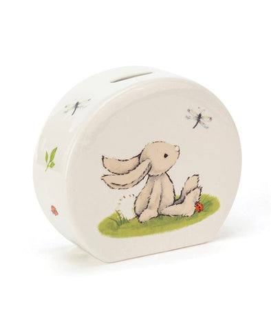 Jelllycat Bashful Bunny Ceramin Money Box