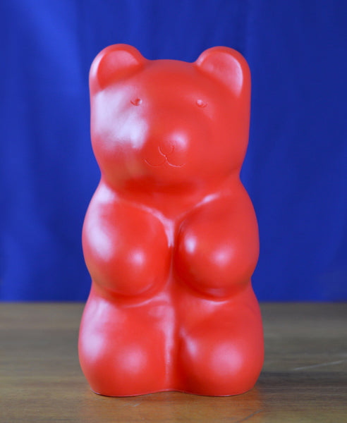 Heico Gummy Bear Night Light Lamp- Red