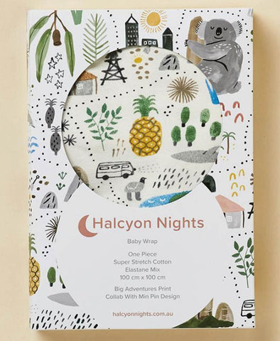 Halcyon Nights Wrap Big Adventures