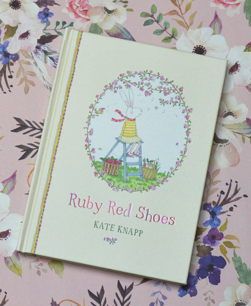 Ruby Red Shoes by Kate Knapp Hard Back