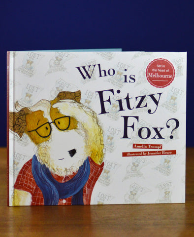 Who is Fitzy Fox Hardback Book