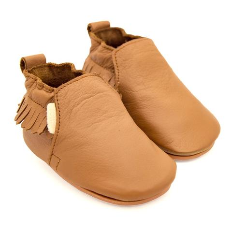 Boumy Bao Shoe Cognac Leather
