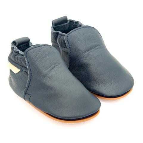 Boumy Hagen Shoe Navy Leather