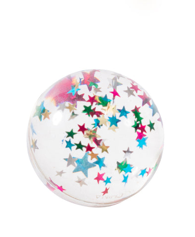 Moulin Roty Bouncy Ball - Asst Glitter Sparkle